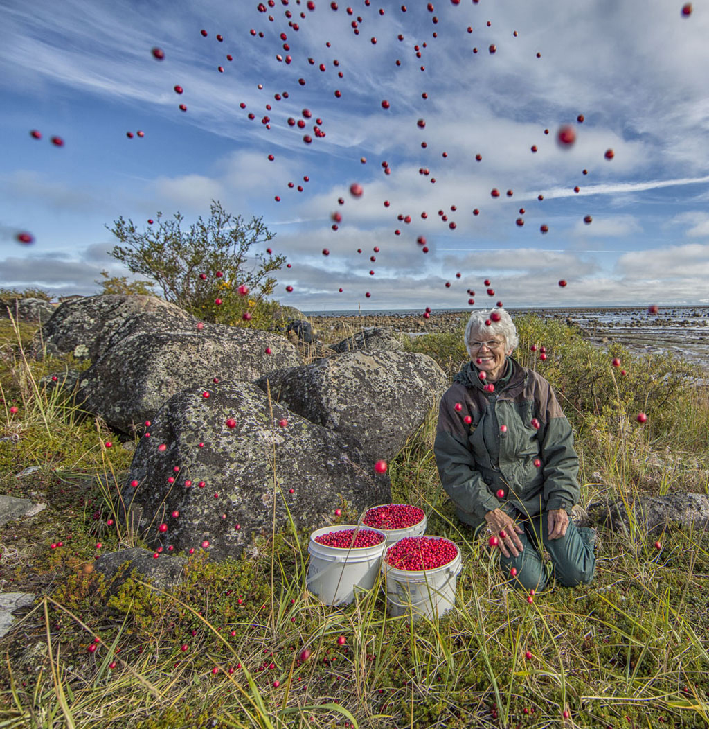 Helen Webber, The Cranberry Queen. Robert Postma photo.